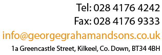 Contact George Graham Estate Agents and Lettings